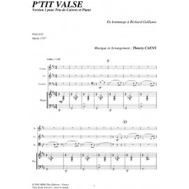 PDF - P'tite valse - CAENS Thierry