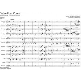 PDF - Valse pour Cornet - OFFENBACH Jacques