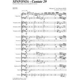 PDF - Sinfonia Cantate 29 - BACH Jean Sébastien