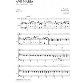 PDF - Ave Maria - CACCINI Guilio