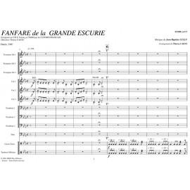 PDF - Fanfares de la grande escurie - LULLY Jean Baptiste