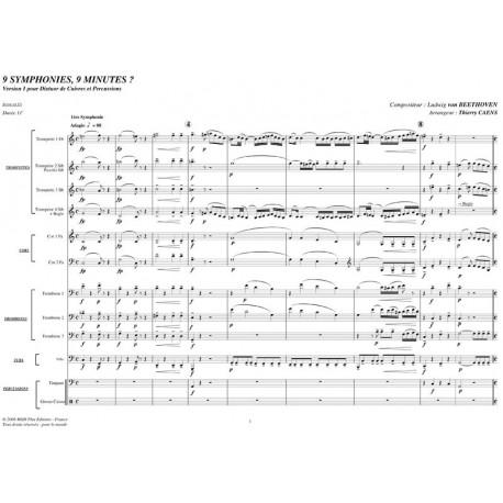 PDF - 9 Symphonies, 9 Minutes ? - BEETHOVEN L.V.