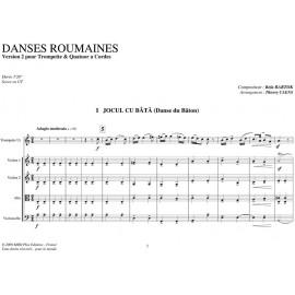 PDF - Danses Roumaines - BARTOK Bela