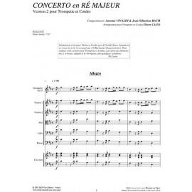 PDF - Concerto en Ré Majeur - VIVALDI / BACH