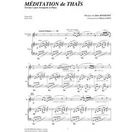 PDF - Meditation de Thais - MASSENET Jules