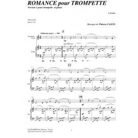 PDF - Romance pour trompette - CAENS Thierry
