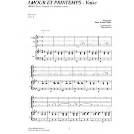 PDF - Amour et printemps (Valse) - WALDTEUFEL