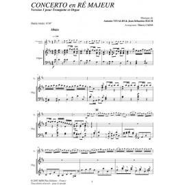 Concerto en Ré Majeur - VIVALDI / BACH