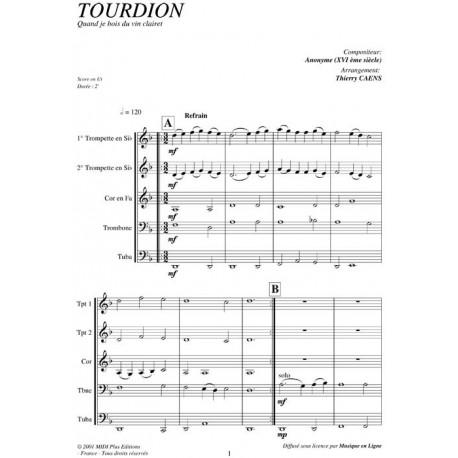 Tourdion (Le) - ANONYME