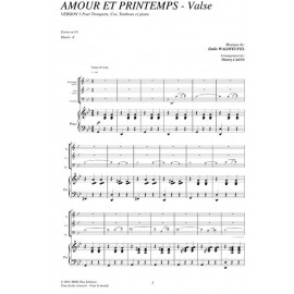 Amour et printemps (Valse) - WALDTEUFEL