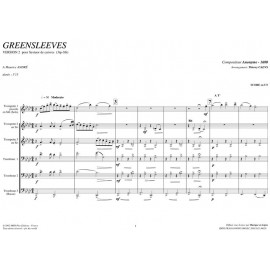 Greensleeves - ANONYME 1600 / TC