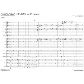 Passacaille & Fugue - BACH Jean Sébastien