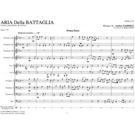 Arie della Battaglia (Mvt 1+2) - GABRIELI