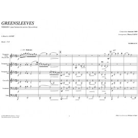 PDF - Greensleeves - ANONYME 1600 / TC (M.André)