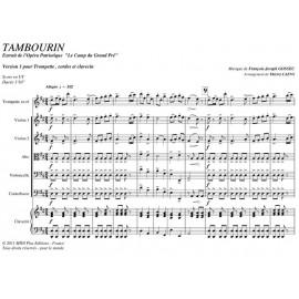 Tambourin - GOSSEC F.J.