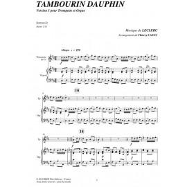 Tambourin dauphin - LECLERC