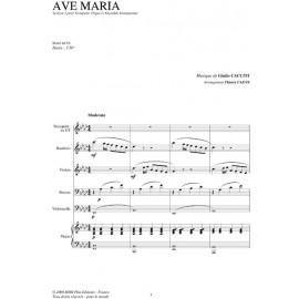 Ave Maria - CACCINI/ Caens