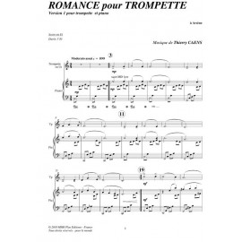 Romance for Trumpet: CAENS
