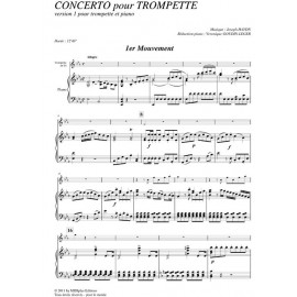 Concerto pour Trompette en Mib majeur: HAYDN/ Goudin