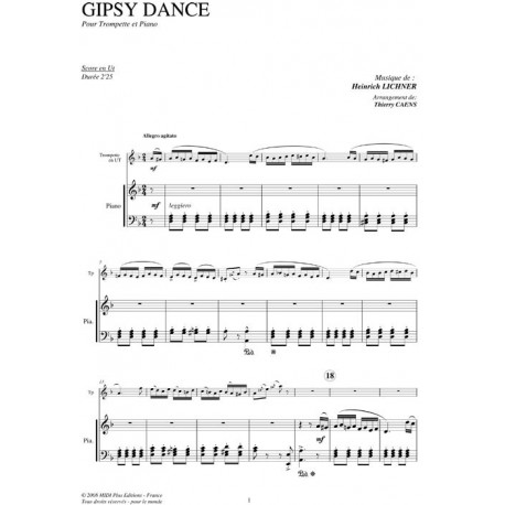 Gipsy Dance (tp version): LICHNER/ Caens