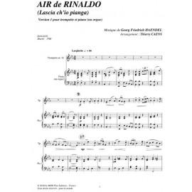 Air de Rinaldo:HANDEL/ Caens
