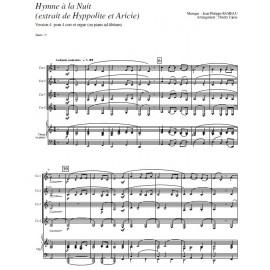 Hymne à la Nuit V4 - RAMEAU/ Caens