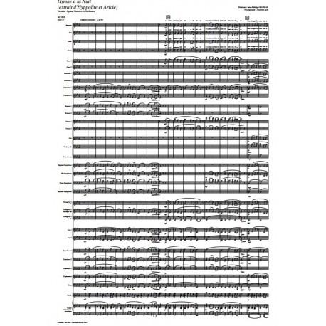 Hymne à la Nuit - RAMEAU /Caens