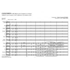Concerto pour trompette (V1) - HUMMEL /Caens