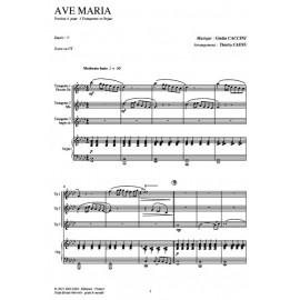 Ave Maria (V4) - CACCINI /Caens