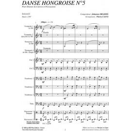 PDF - Danse Hongroise N°5 - BRAHMS Johannes