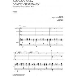 PDF - Barcarolle des contes d'Hoffman  - OFFENBACH Jacques