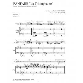 PDF - Fanfare la triomphante - COUPERIN/Caens