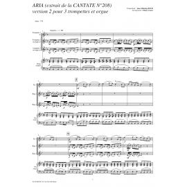 Chorale cantata 208 - BACH /Caens