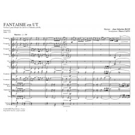 PDF - Fantaisie en Ut V2 - BACH /Caens