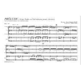 Prélude (3ème suite en Sol mineur) - BACH / Caens