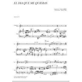 PDF - El Dia Que Me Quieras - GARDEL / Caens