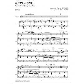 PDF - Berceuse - GOUNOD Charles