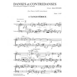 PDF - Danses et Contredanses - FONTAINE Bruno