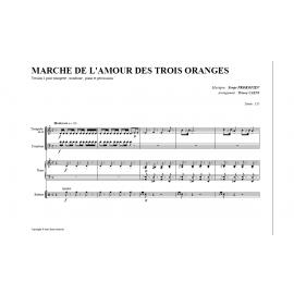 """Prokofiev """"la marche de l'amour des 3 oranges"""""""