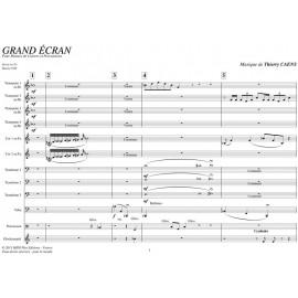 PDF - Grand Ecran (Mvt 1+2+3) - CAENS Thierry
